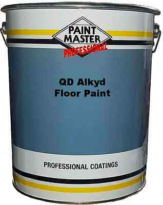 Paintmaster Quick Drying Alkyd Based Floor Paint 20 Litre - Multiple Colours