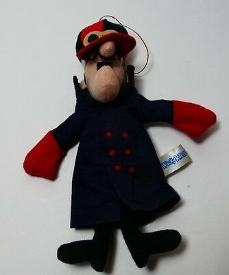 Wacky Races Vintage Dick Dastardly Plush Prize Toy 1991 from Japan