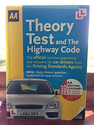 AA Theory Test and the Highway Code by AA Publishing (Paperback, 2010)