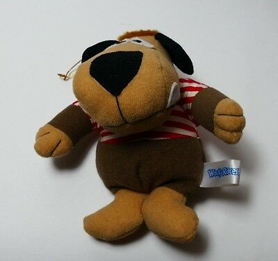 Wacky Races Vintage Muttley Red Sriped Top Plush Prize Toy 1991 from Japan