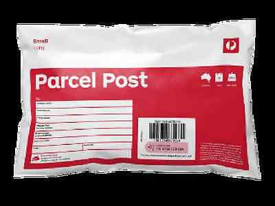 Parcel Post 500g Small Satchel Red Australia Post Office Parcel PACK OF 10 NEW