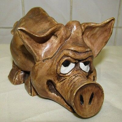 funny pig ornament/gift
