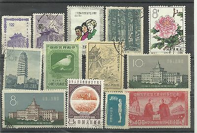 A Mounted Mint & Used Selection of China/Tiawan Stamps.