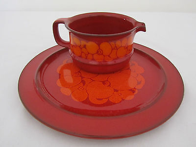 Retro Vintage Hutschenreuther Germany Serving Plate + Large Sauce Dipping Jug