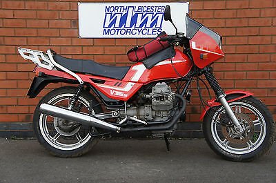 Moto Guzzi 350 V35, low miles, good runner, project requires re-commissioning