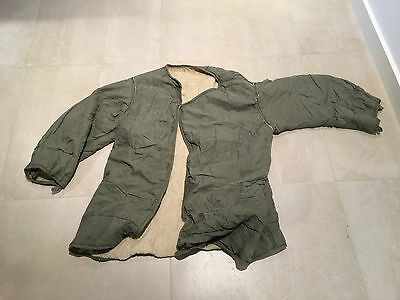 m51  parka FREIZE   liner LARGE  USED A+ 26 265   TO IDENTIFY