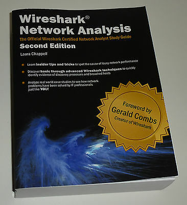 Laura Chappell Wireshark Network Analysis Second Edition, official study guide