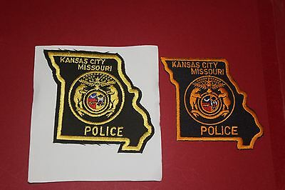 2 Different Patches from Kansas City Police Missouri