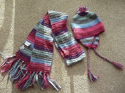 Monsoon Scarf and Gloves Set