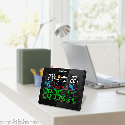 EXCELVAN COLOR Wireless Weather Station With Forecast,Temperature,Humidity