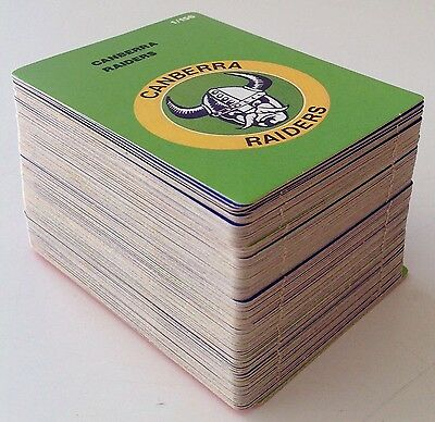 Scanlens Stimorol  1990 Rugby  League  Card Full Set 156/156 Mint