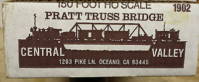 HO Central Valley 150 Foot Pratt Truss Bridge  # 1902 NIB