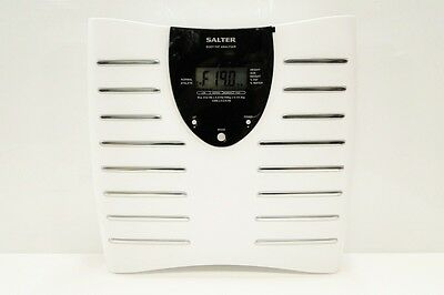 New Ex Display Salter 9125 Body Fat & Water Analyser Scale-Lcd Display