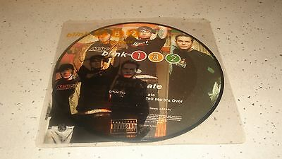 """Blink First Date 7"""" Picture Disc 2001 MCA RECORDS - Original Sleeve"""