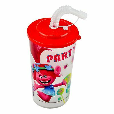 Trolls Light Up Fun Sip LED Tumbler Cup With Straw