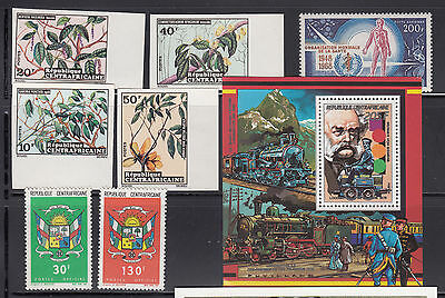 Central Africa 1968-1989 Collection all mint never hinged