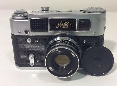 RUSSIAN Fed 4 Camera With Lens и-61  2.8/52