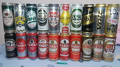 POLISH 234 BEER CANS - promo