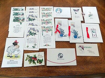 Mixed lot Vintage Greeting Cards 40's & 50's lot of 22 counting duplicates
