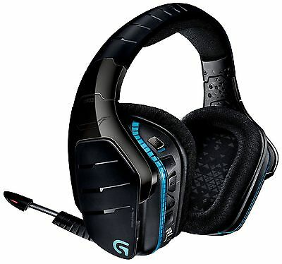 Logitech G933 7.1 Surround Sound Wireless Gaming Headset Headphones Pc Ps4 Xbox