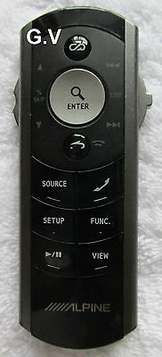 Alpine Rux-4220 Remote Control Free Post Genuine For Use With Ex-10 Alpine Units