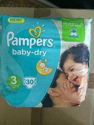 3 Paquets De Couches Pampers Taille 3
