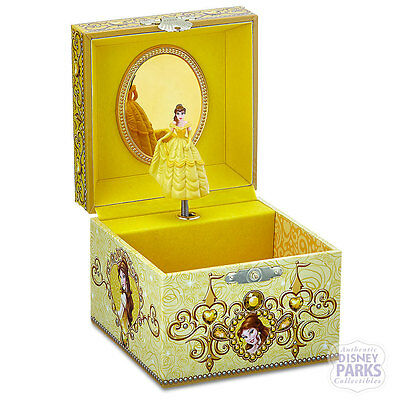 Authentic Disney Parks Belle Music Jewelry Box Beauty and the Beast Music