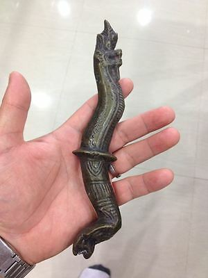 Pa Yaa Naak King Of Nagas Naga Dagger Keris Kriss Knife  Amulet Serpent Snake