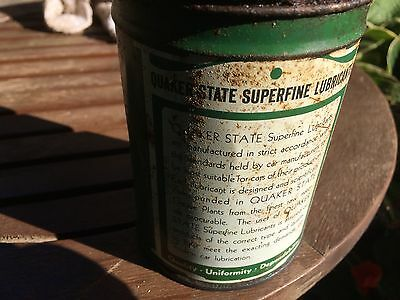 Small Vintage Quaker State Lube Can