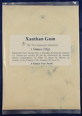 Xanthan Gum - Food Grade - 1 oz...U.S. SELLER!!!