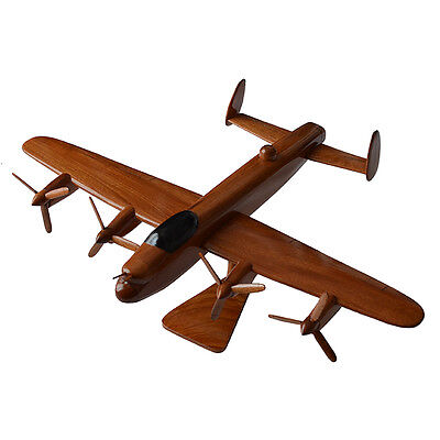 Handmade Wooden Aircraft Models Lancaster Spitfire Chinook Apache Concorde