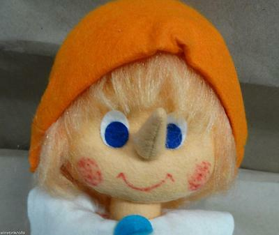 1981 Lenci Premio Pinocchio 18 Inch Felt With Hang Tag Made In Torino Italy