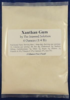 Xanthan Gum - Food Grade - 4 oz...U.S. SELLER!!!