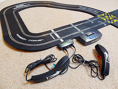 Scalextric Lap Counter; Controllers;& Various Track - Job Lot