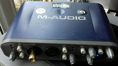 m-audio fast track pro audio interface/soundcard