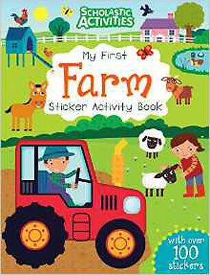 My First Farm Sticker Activity Book (Scholastic Activities), New, no author Book
