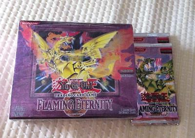 YU GI OH Flaming Eternity Trading Card Game sealed English Edition 1st Edition