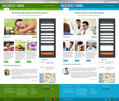 Business Website with Appointment Booking System