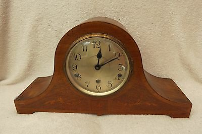 Vintage Fontenoy Westminster Chime Inlaid Mantel Clock For Spares Repair