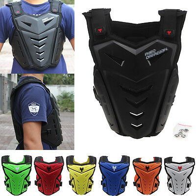 Motorcycle Motorcross Enduro Body Armour Protection Spine Chest Protector S-XXXL