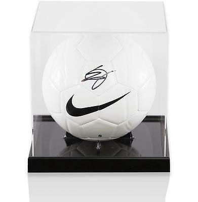 Eric Dier Official England Signed Nike Football in Acrylic Case Autograph