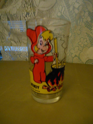 "Collectible Pepsi ""wendy"" Glass 1970's"