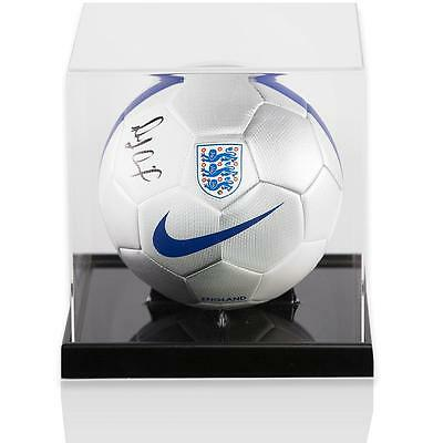 Michail Antonio Official England Signed England Football in Acrylic Case