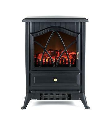 Beldray Electric Stove Fire Electric Fireplace Black Cream