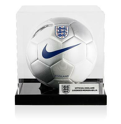 Jack Wilshere Official England Signed England Football In Acrylic Case