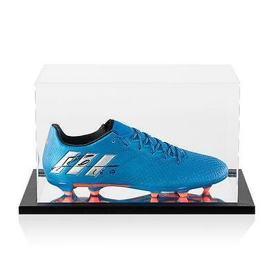Lionel Messi Official Signed Adidas 16.3 Boot In Acrylic Display Case