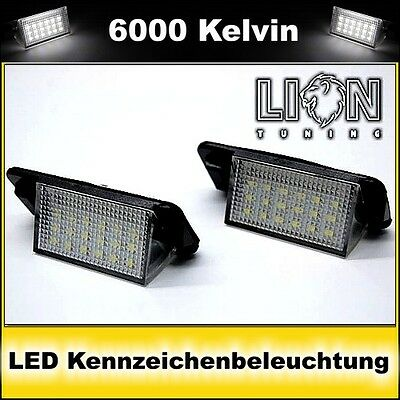 LED SMD Kennzeichenbeleuchtung BMW E36 Limonsine Touring Coupe Cabrio Compact M3