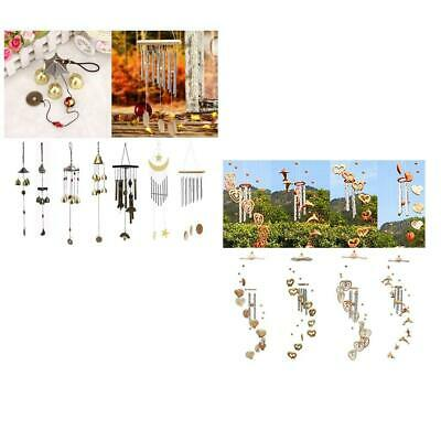 Various Chinese Oriental Lucky Metal Brass Bell Wind Chime Harmony Feng Shui