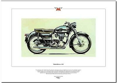 Matchless G3---Motorcycle Art Print
