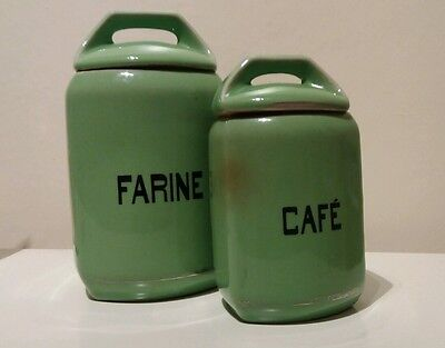 Vintage French Storage Jars